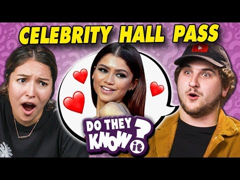 Do Couples Know Their Celebrity Hall Passes?