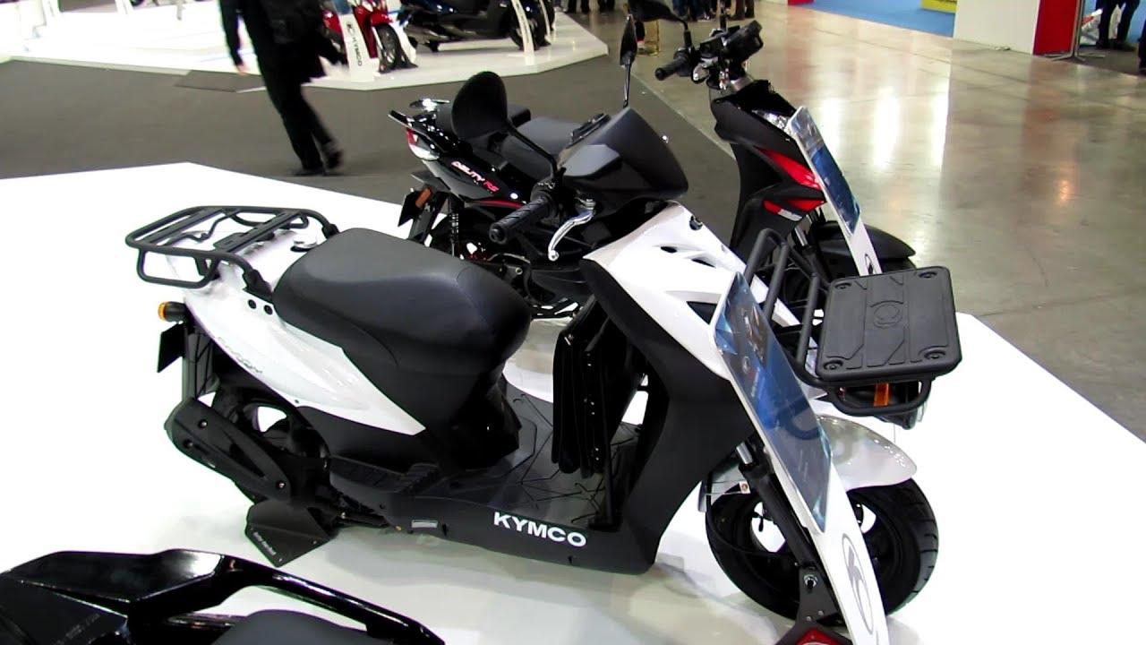 2014 kymco agility 16 + 125 scooter walkaround - 2013 eicma milano
