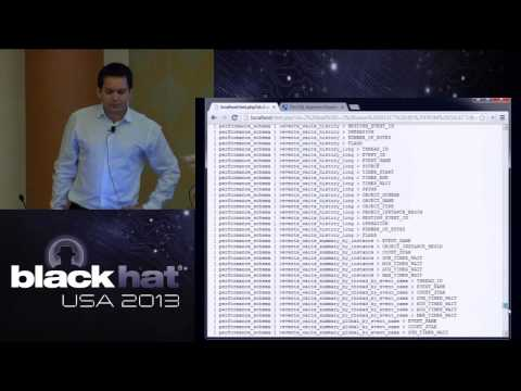 Black Hat USA 2013 - UNION SELECT `This_Talk` AS ('New Optimization And Obfuscation Techniques')%00