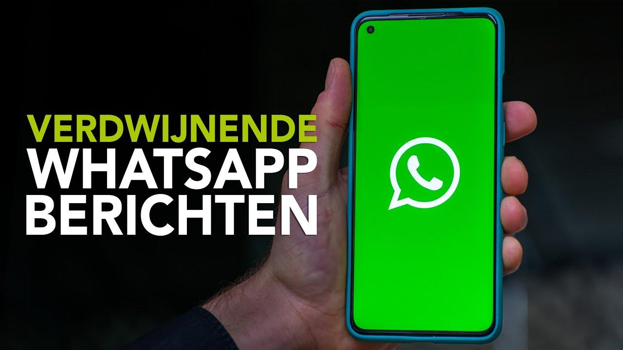 Tip: zo gebruik je verdwijnende berichten bij WhatsApp