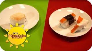 Fake Lebensmittel im Restaurant? Gastro-Schummel aufgedeckt!   SAT.1 Frühstücksfernsehen   TV