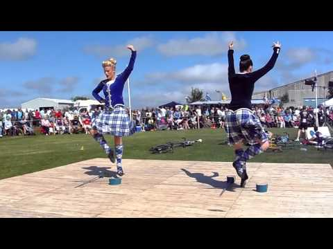 Sword Dance At Halkirk Highland Games 2013