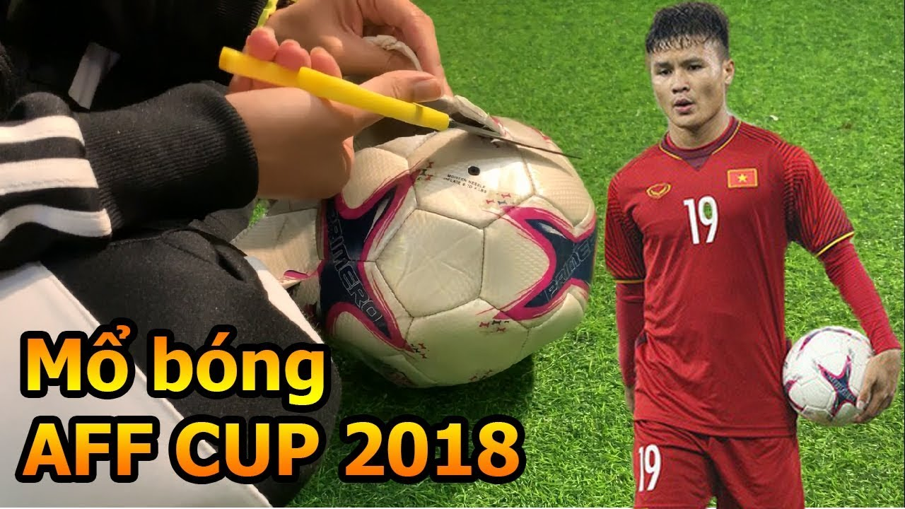 Thử Thách Bóng Đá Cắt Banh thi đấu của Quang Hải Công Phượng và ĐT Việt Nam tại AFF CUP 2018