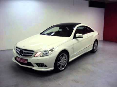 2011 mercedes benz e class e350 coup avantgarde amg. Black Bedroom Furniture Sets. Home Design Ideas