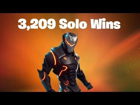 #1 World Record 3,209 Solo Wins | Fortnite Live Stream
