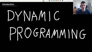 Dynamic Programming lecture #1 - Fibonacci, iteration vs recursion