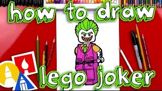 How To Draw Lego Joker