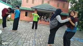 Teknik dasar latihan ke atlitan ( Pagar Nusa )