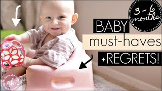 3-6 months BABY MUST-HAVES + REGRETS || Natalie Bennett