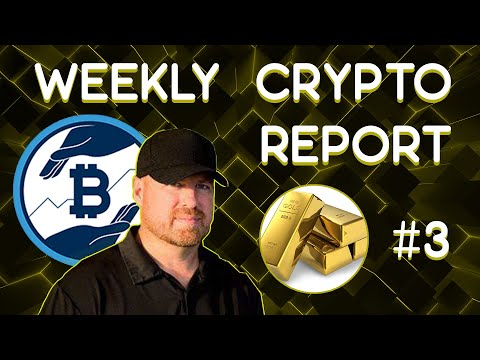 Cryptocurrencies travel much better than gold & more – Weekly Crypto Report #3