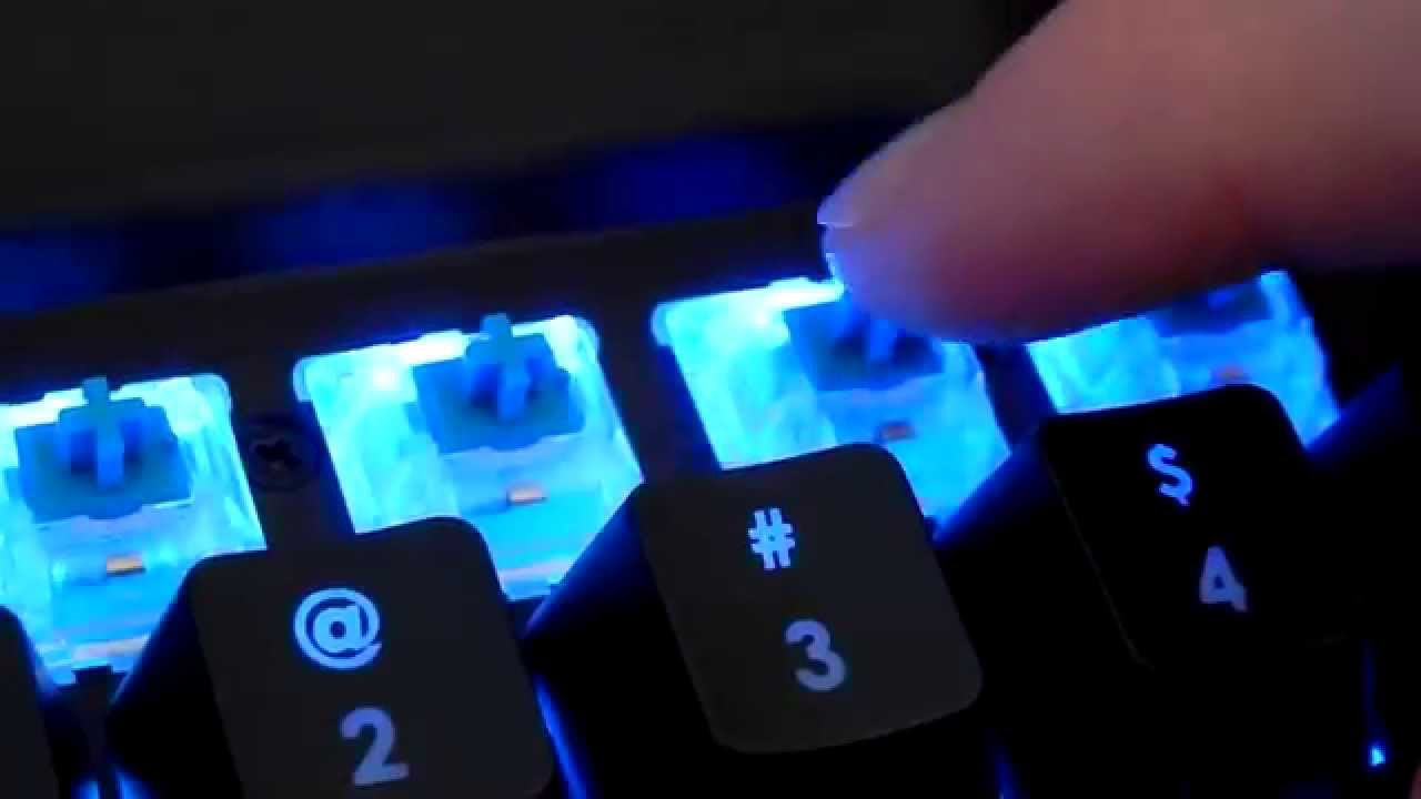 dcf3069297b Corsair K70 RGB Unboxing and Demo - YouTube