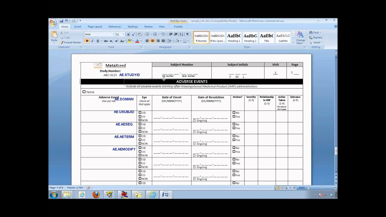 definedoc tutorial annotated crf