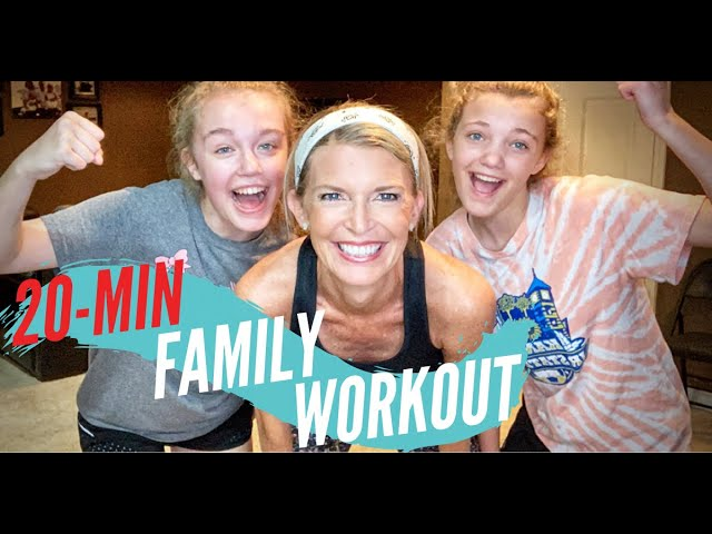 family workout no equipment Under 25 Minutes