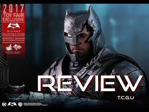 Hot Toys BATMAN ARMORED BATTLE DAMAGE VERSION - EXCLUSIVE - MMS 417 BVS french review française