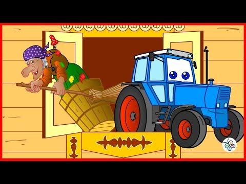 Трактор Бо и герои сказок. Мультфильм. Tractor Bo.