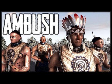NATIVE AMERICAN AMBUSH - American Revolution (BITFA) Mod - Men of War: Assault Squad 2