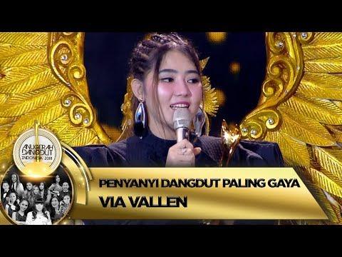 Selamat! Via Vallen Terpilih Menjadi Penyanyi Dangdut Paling Gaya - ADI 2018 (16/11)