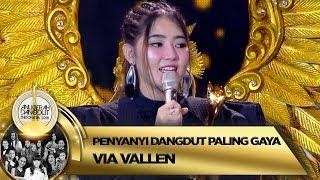 Download lagu Selamat! Via Vallen Terpilih Menjadi Penyanyi Dangdut Paling Gaya - ADI 2018 (16/11)