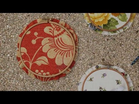 How To Make Embroidery Hoops Wall Art – DIY Home Tutorial – Guidecentral