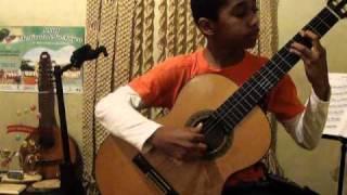 Bambuco Gloria Beatriz, Compositor: León Cardona, Intérprete: Andres Felipe Palacios.MP4