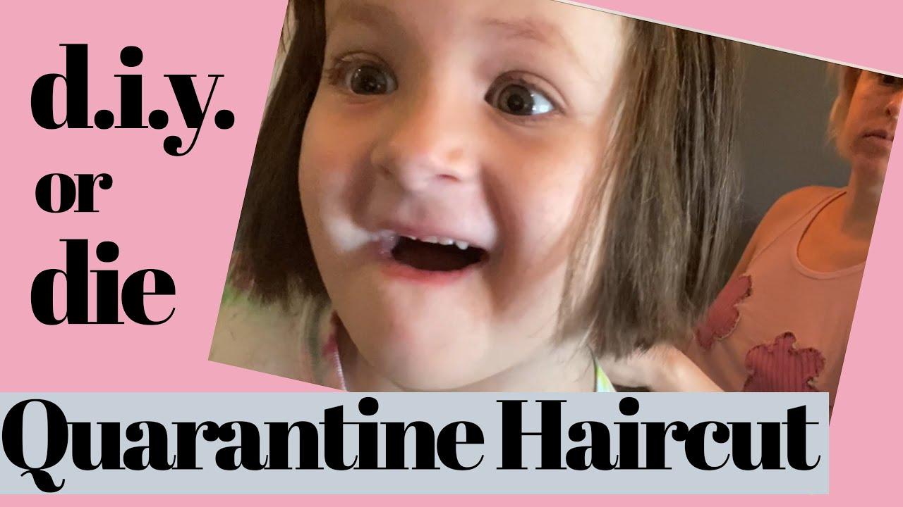 Quarantine Haircut D.I.Y. Or Die / Z Gets a Haircut