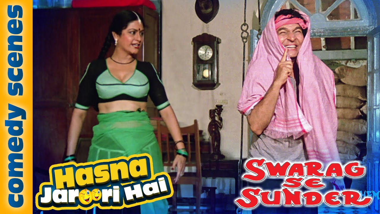 Asrani Best Comedy Scene - Hasna Zaroori Hai - Swarag Se Sunder - Bollywood Comedy Movies