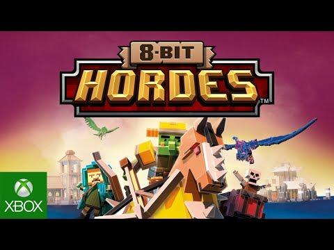 8-Bit Hordes   Gameplay Trailer