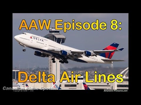Delta Air Lines - Airlines Around the World #8