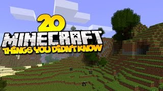 20 things you didn t know about minecraft part 4