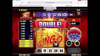 👑 Slingo Reel King Online Game 👑 💥 OMG Another FULL HOUSE 💥