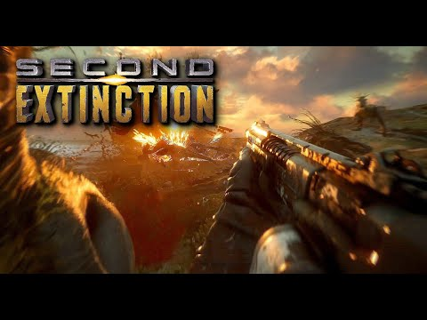 Second Extinction – Exclusive Gameplay Demo (New Dinosaur FPS Game 2020)