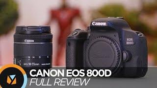 Canon EOS 800D Review