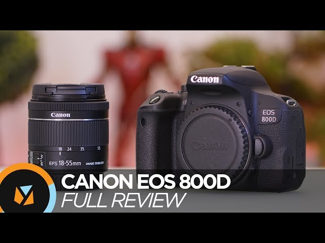 Canon Eos 800d Review Youtube