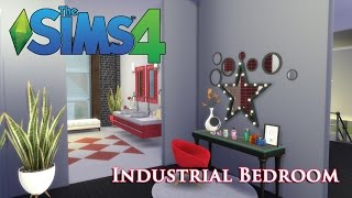 The Sims 4 - Converted Factory - Bedroom(Part 3)