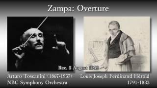 hérold zampa overture toscanini nbcso 1952 エロルド ザンパ序曲 トスカニーニ
