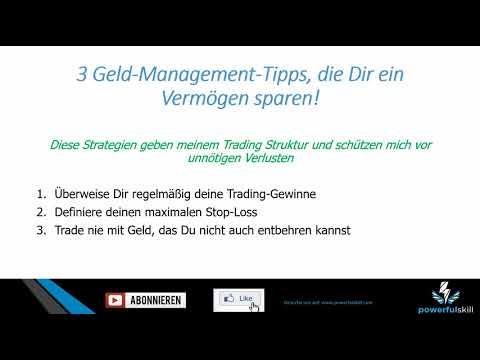 3 Trading Geldmanagement Tipps, die Dir ein Vermögen sparen