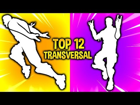 TOP 12 FASTEST TRAVERSAL Emotes In Fortnite..!