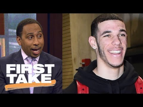 Stephen A. Smith finally impressed with Lonzo Ball | First Take | ESPN