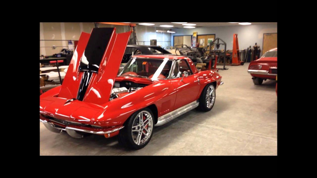 63 Corvette Resto Mod Youtube