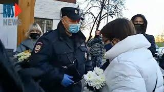 ⭕️ Москва   В память о тех, кого увезли на расстрел
