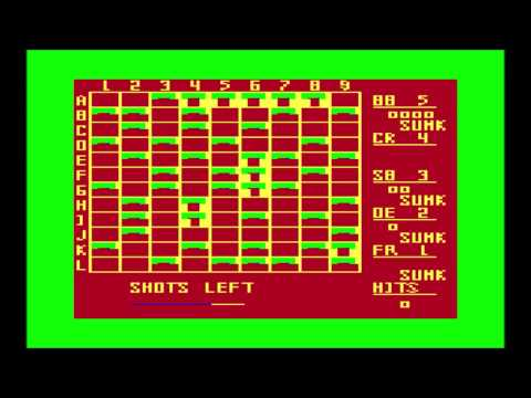 Shiphunt for the TRS-80 CoCo