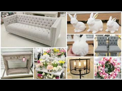 Shop With Me At Homegoods, Target, Tj Maxx - Target Dollar Spot Easter Decor, Home Decor & More
