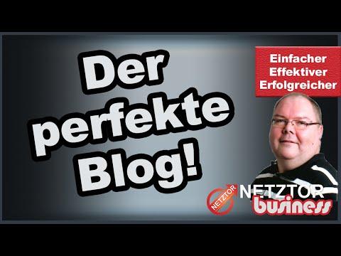 WordPress Blog erstellen Meine Tipps für den perfekten Blog Webinar Aufzeichnung von | NETZTOR