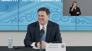 Arizona COVID-19 Briefing with Governor Ducey, Dr. Christ, Maj. Gen. McGuire - May 20, 2020