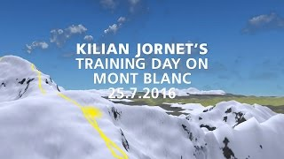 Kilian Jornet's high-altitude training day on Mont Blanc Massif