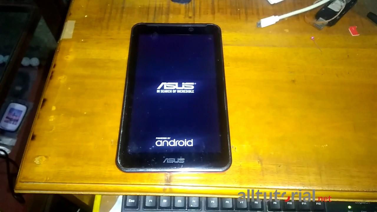 Cara Hard Reset Asus Fonepad 7 K012