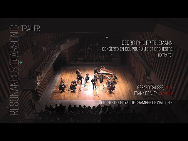 Resonances @ Arsonic - Caussé, Braley, Orchestre Royal de Chambre de Wallonie [LIVE] TRAILER (4k)