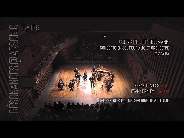 Resonances @ Arsonic - Caussé, Braley, Orchestre Royal de Chambre de Wallonie  - LIVE 4K