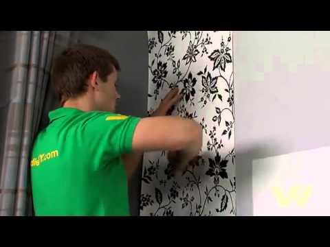 Cara Memasang Wallpaper // Www.byzanthium-interior.com