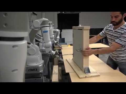 Collective Robot Reinforcement Learning, End Result